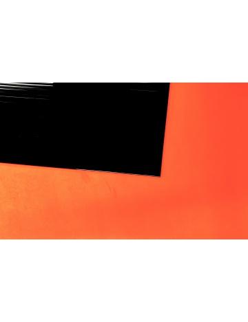 Plastová deska dutinková, černá (210 x 100cm)
