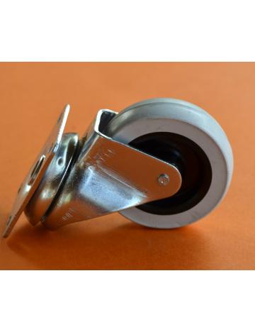 Kolečko průmyslové bez brzdy, průměr 60mm
