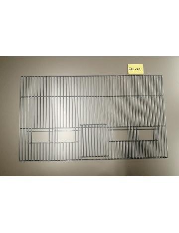 Mřížka stříbrná 685x400