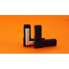 Plastové spojky pro profil 25x25, kovové jádro