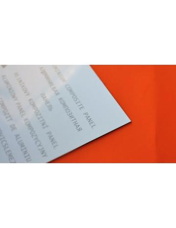 Sendvičová deska, bílá, 3mm (200 x 50cm)