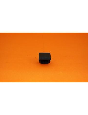 Zátka černá pro profily 20x20x1,5mm