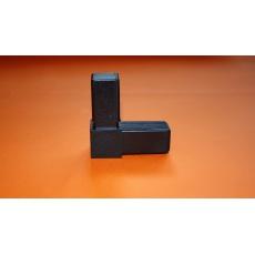 Plastové spojky pro profil 30x30, černé
