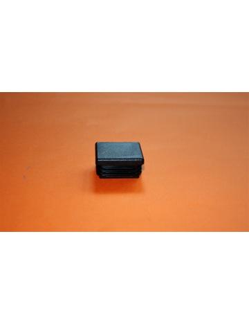 Zátka černá pro profily 25x25x2mm