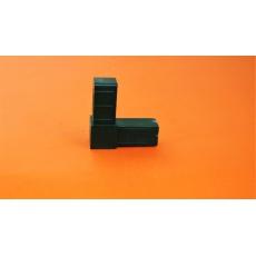 Plastové spojky pro profil 20x20, zelené