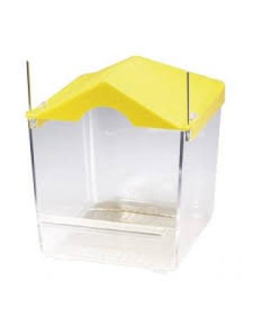 Koupelna s stříškou, žlutá (B002)