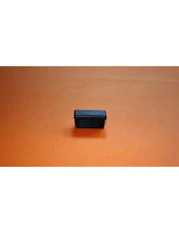 Zátka čierna pre profily, 40X20X5mm