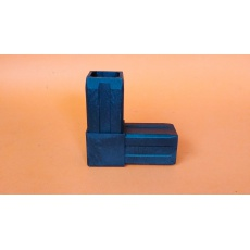 Plastové spojky pro profil 40x40HČ, černé