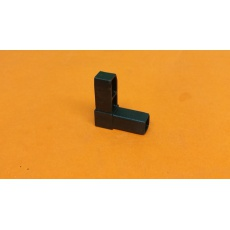 Plastové spojky pro profil 15x15, černé