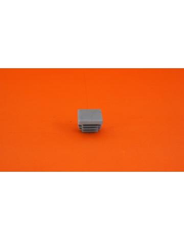 Zátka šedá pro profil 20x20x1,5mm