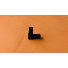 Plastové spojky pro profil 13 x13, černé