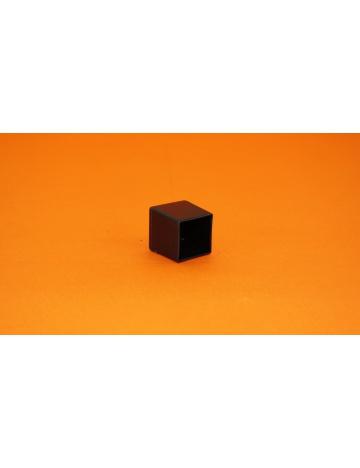 Krytka černá pro profily, 20x20x1,5mm