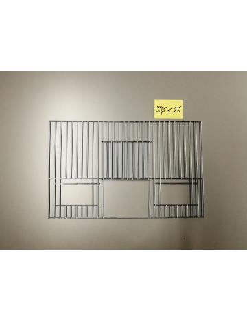 Mřížka stříbrná 395x250