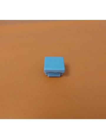 Zátka šedá pro profil 25x25x2mm