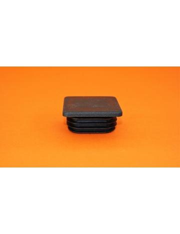 Zátka černá pro profily, 40x40x5mm