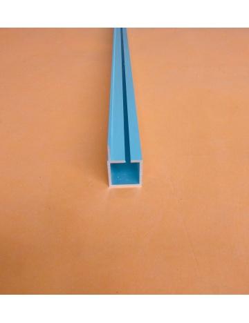 Hliníkový profil HJ25K1 s drážkou