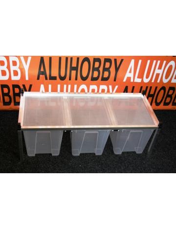 Rack Aluhobby K5 - strop síto (patro, včetně beden)