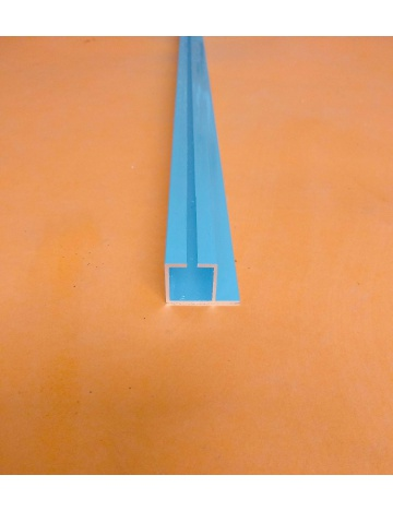 Hliníkový profil HJ20K1 elox. s drážkou