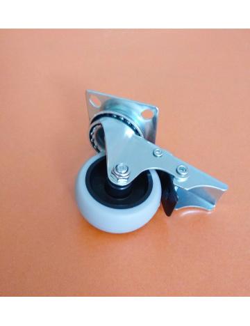 Kolečko průmyslové s brzdou, průměr 50mm