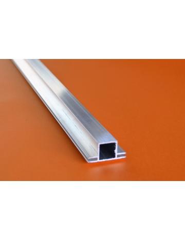Hliníkový čtvercový jekl, 20x20x1,5mm