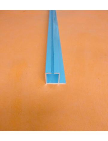 Hliníkový profil HJ20K1 s drážkou